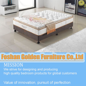 Pillow Top Gel Memory Foam Mattress pictures & photos