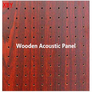 Wooden Acoustic Panel Wall Panel Ceiling Panel Decoration Panel Hole/Slot Board Panel Hoheycomb Panel Internal Panel Wall Board Sheet pictures & photos