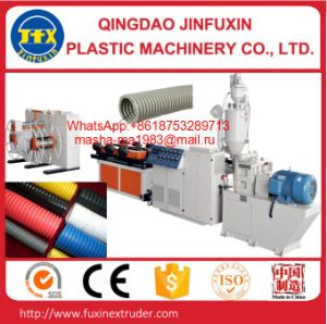 PP/PE Single Wall Corrugated Pipe Production Machine pictures & photos