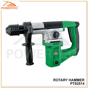 Powertec 900W 28mm Electric Rotary Hammer (PT82514) pictures & photos