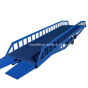 15 Ton Manual Hydraulic Mobile Hydraulic Ramp pictures & photos