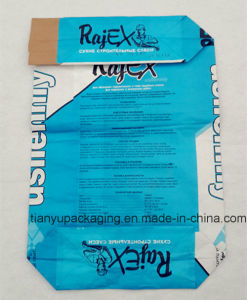 Gravure Printing Dry Mixed Mortar Valve Paper Bag pictures & photos
