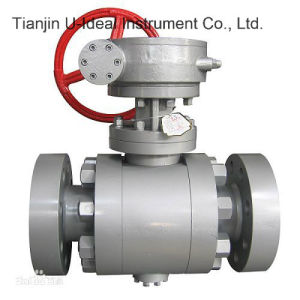 Ball Valve-Single Piece Simple Design Steam Jacketed Ball Valve pictures & photos