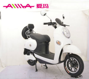 72V 800W Electric Motorcycle with Flying Saucer Rear Box pictures & photos