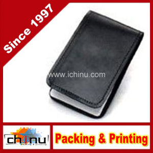 Leather Pocket 3X5 Memo Book Cover Note Pad Holder - Plain (520093) pictures & photos