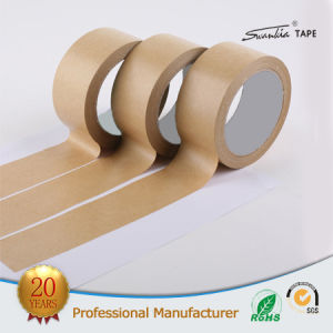 Water Activated Kraft Paper Tape for Packing Cartons pictures & photos