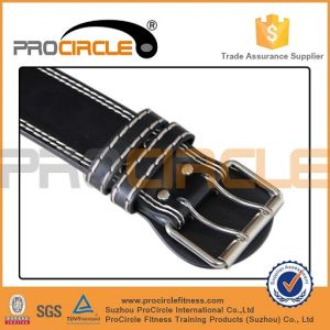 Gym Use Leather Weight Lifting Belt (PC-WB1004) pictures & photos