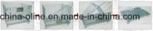 Storage Bulk Metal Mesh Cage (1100*1000*890) pictures & photos