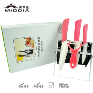 Premium Gift Set with Colorbox Packaging for Ceramic Knife Set pictures & photos