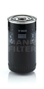 Oil Filter Mann W950/26 for Case, New Holland Equipment pictures & photos