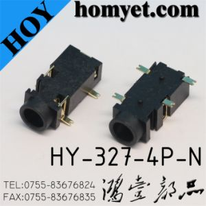 3.5mm SMT Type Phone Jack (Hy-327-4p-N) pictures & photos