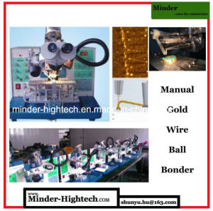 Manual Ultrasonic Gold Wire Ball Bonding Machine Mdbb1750 pictures & photos