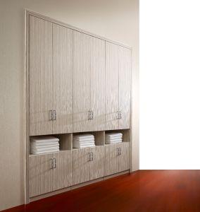Swing Door Panel Melamine Bedroom Wardrobe pictures & photos