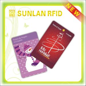 Personalized PVC Contact IC / ID Card pictures & photos