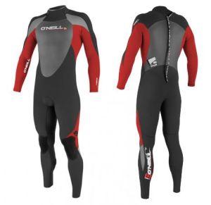 3/2mm Black Flatlock Back Zip Steamer Wetsuit for Men pictures & photos