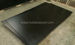 AAA Grade 9mm Black Film Faced Plywood for Construction with Ce Certificate pictures & photos