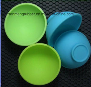 FDA Silica Gel Bowl Kitchen Utensils pictures & photos