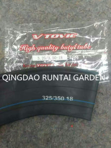 Qingdao Made High Quality Motorcycle Butyl Inner Tube (3.25/3.50-18) pictures & photos