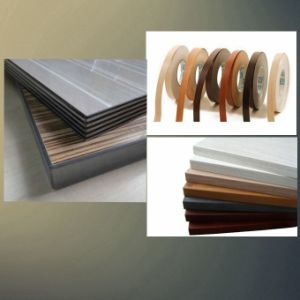 Wood Grain Melamine MDF Edge Banding Tape pictures & photos
