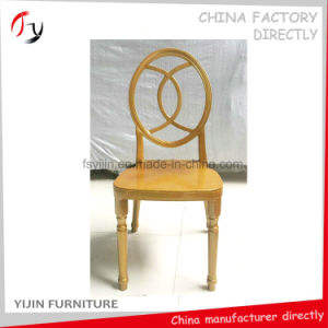 Carving Stylish Cheap Price Good Quality Hotel Wood Imitation Chair (FC-186) pictures & photos