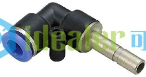 High Quality Brass Fitting Pneumatic Fitting with Ce (PLJ10)
