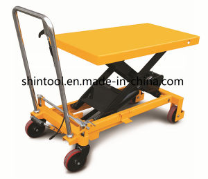 1500kg Mini Scissor Lift Table with Max. Height 1000mm (SPA1500) pictures & photos