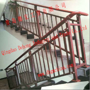 Galvanized/Power Coated Wrought Iron Stair Railing/Stair Handrail pictures & photos