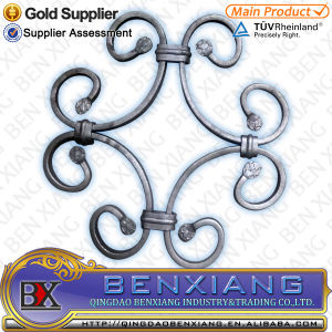Decoration Wrought Iron Components Cast Steel Panel pictures & photos