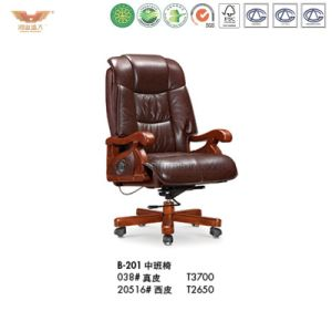 Office Luxury Wooden Executive Chair (B-201) pictures & photos