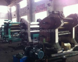 High Quality Hardened Gear Three Roll Rubber Calender Calendering Machine pictures & photos
