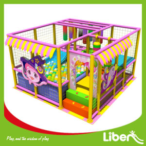 Kids Birthday Gift Small Indoor Playground with Ball Pool pictures & photos