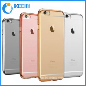 Factory OEM Plated TPU Mobile Phone Case for iPhone 7, 7 Plus pictures & photos