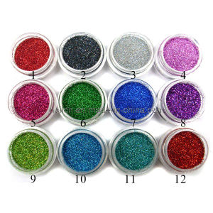 Nail Laser Glitter Dust Powder pictures & photos