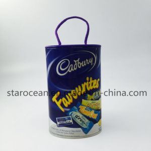 Plastic Packaging for Toys Round Box with Silk-Screening pictures & photos
