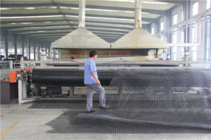 High Intensity Biaxial Glass-Fiber Warp Knitting Geogrid pictures & photos