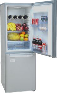 DC 12V 24V CE Upright Style Refrigerator 210L pictures & photos