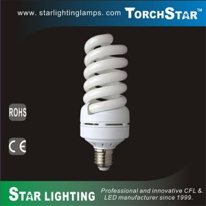E27 Base 4550lm Tri-Phosphor Energy Saving Compact Flourescent Lamp