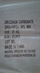 Zirconium Carbonate pictures & photos