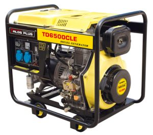 5 kVA Diesel Power Generator / Portable Diesel Generator Price (TD6500CLE) pictures & photos