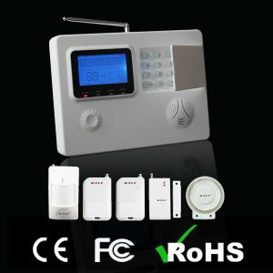 Dual Network Security System: GSM/PSTN Wireless Alarm Panel pictures & photos