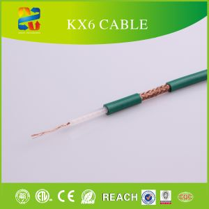 Linan Cable Manufacturer Kx6 Coaxial Cable with CE/ETL/RoHS Certificate pictures & photos