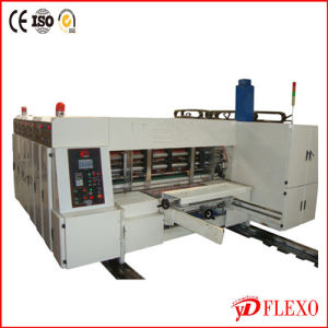 Lead Edge Feeder Carton Flexo Printing Die Cutting Machine (ZYK920)