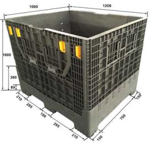 Collapsible Pallet Container/Box Without Lid pictures & photos