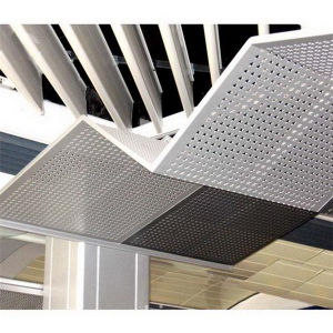 Galvanized Perforated Metal Grating pictures & photos