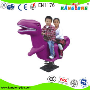 Double Seats Dragon Spring Rider for Kids in Parks (2014 KL 196G) pictures & photos