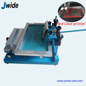 Red Glue Manual Printer PCB Machine pictures & photos