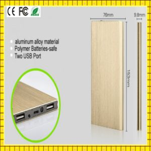 2015 Thin CE, FCC, Certified Power Bank 12000mAh (GC-PB140) pictures & photos