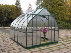 Stronger Curved-Design Polycarbonate Greenhouse -- V11 pictures & photos