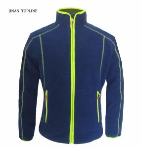 Men Micro Fleece Thick-Plus Wind-Proof Casual Outdoors Jacket Sports Wear pictures & photos
