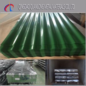 Color Coated Gi Corrugated Steel Roofing Sheet pictures & photos